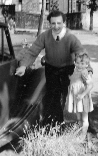 Rosemary & her father Walter