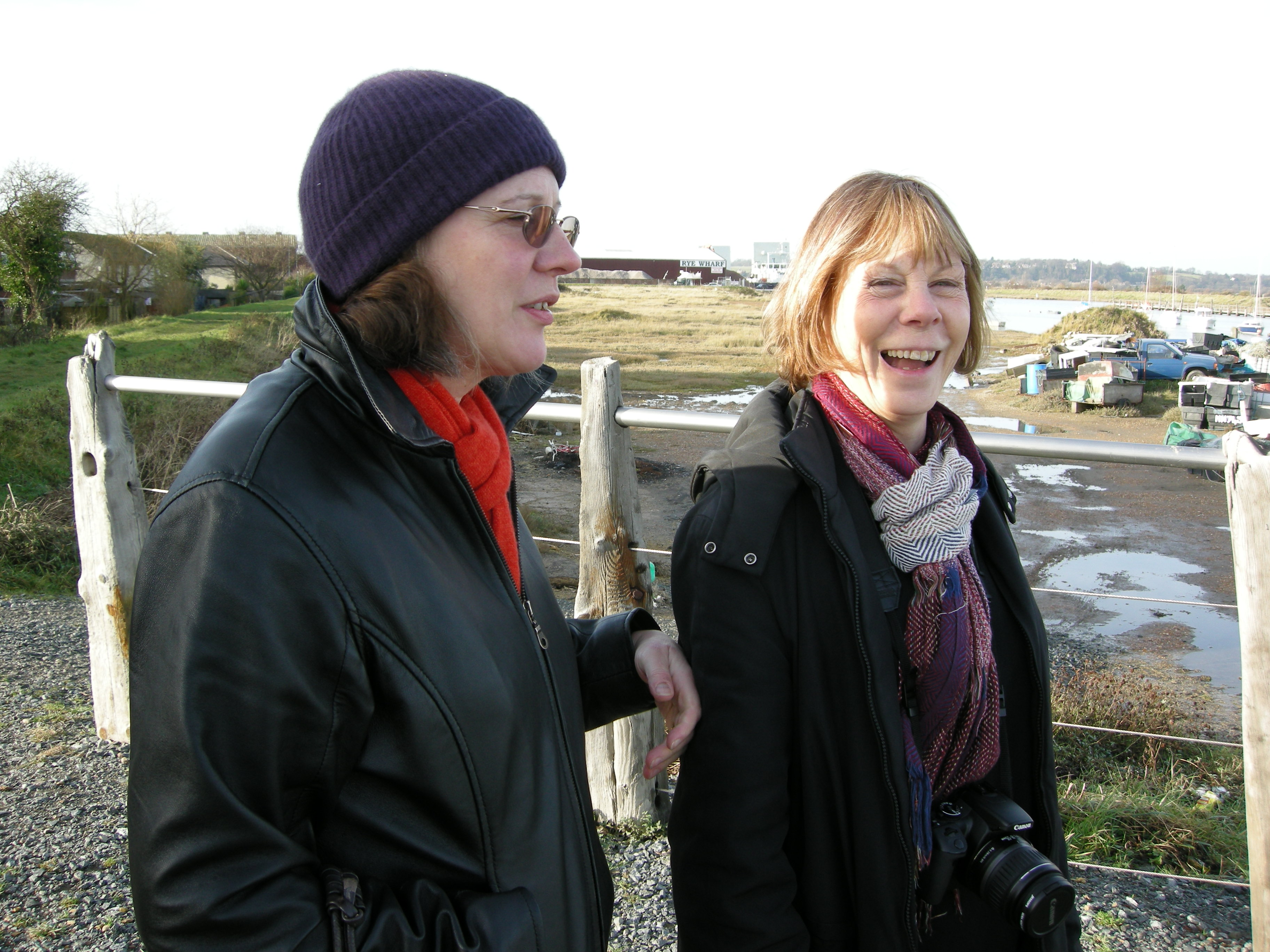 2010 - March. With Lauris Morgan-Griffiths, Rye