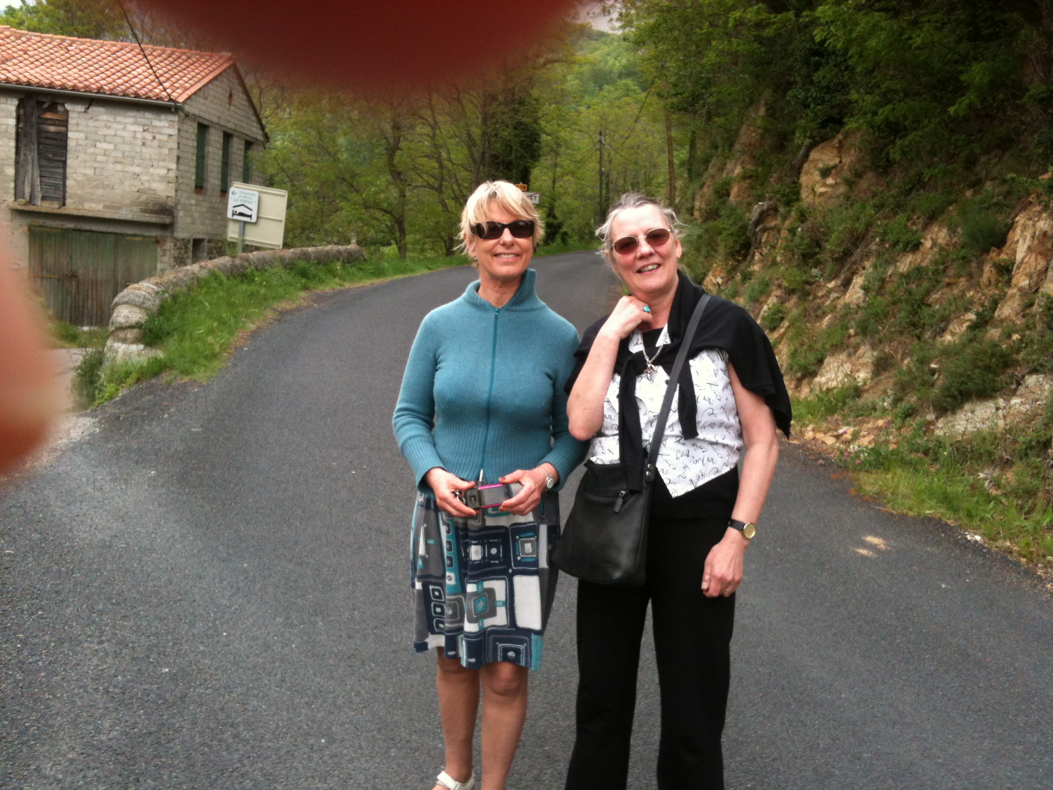 2015 - With Momo Didier, Mosset, France