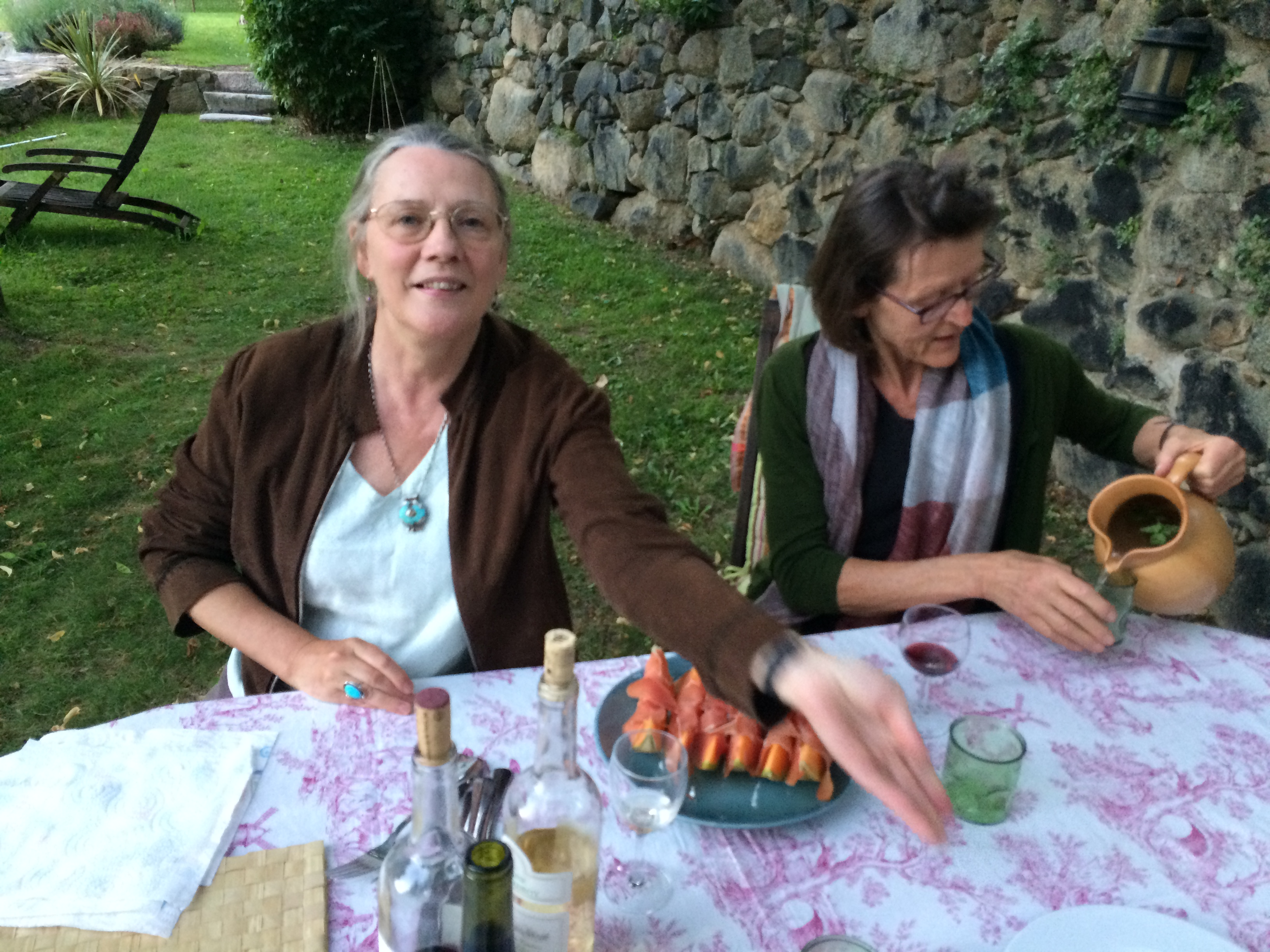 2015 - August 25, with Martha Stevns, Mosset