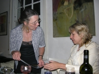 2008 - With Frances Bentley at Hanson Street