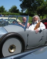 2010 - June 23, Dorsington with Felix Dennis