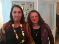 2012 - Jan 8. With Suzy Kaplan