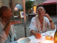 2013 - Aug. With Henri Sentenac, mayor of Mosset