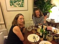 2014 - Sept.24, with Valerie Orpen, Hanson Street