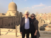 2016 - Nov, rooftop Cairo. Pic Tom Hardwick