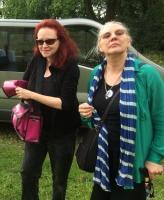 2018 - June 7, Bordeaux. With Suzy Treister
