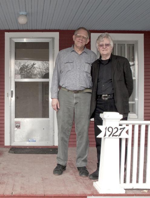 James & Miles Feb 2011, WSB's House