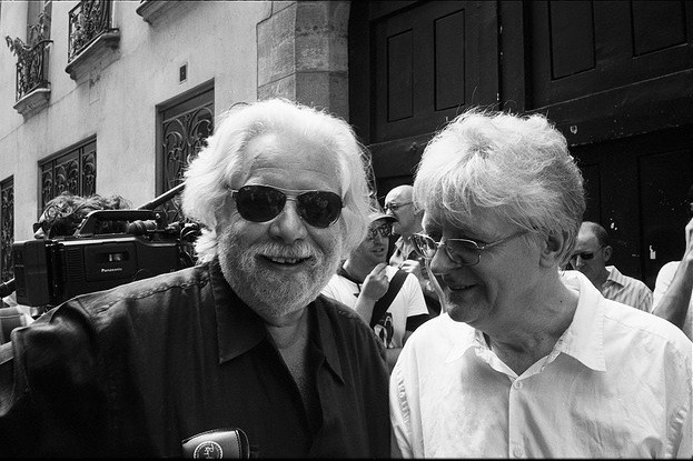 With Jean-Jacques Lebel
