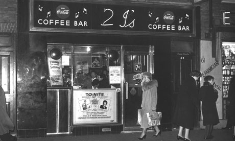Old Compton Street, Soho, 1959: Miles's book evokes a now vanished city. Photograph: Dezo Hoffmann/Rex Features