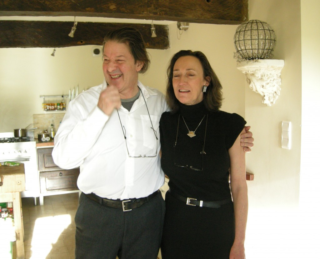 Christmas Day 2011; Ian & Suzie (Rosemary Bailey)