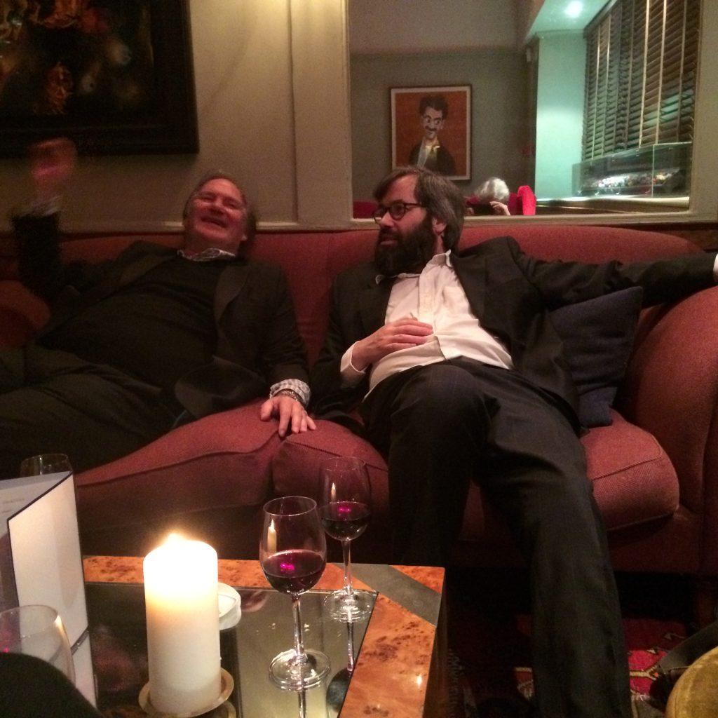 James & Andrew as Clubmen