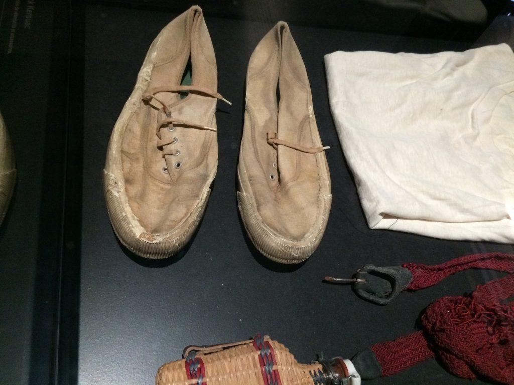 Kerouac's sneakers