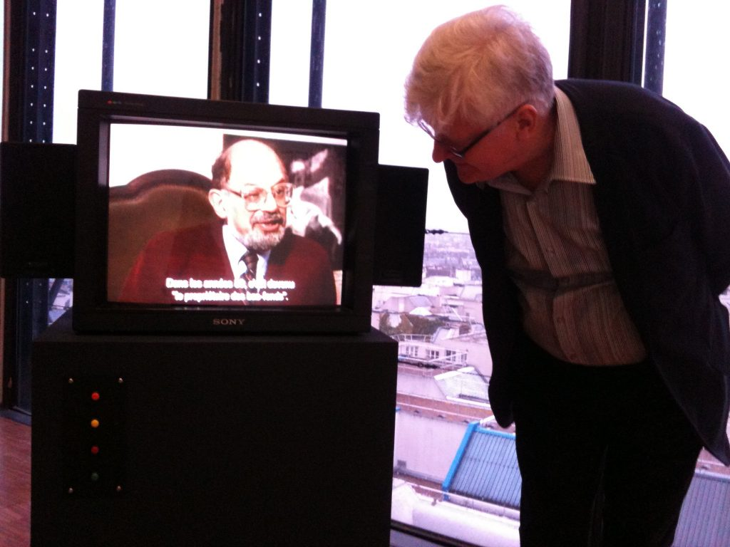 Miles listening to Allen Ginsberg