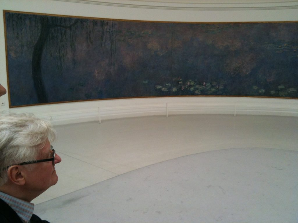 Studying the waterlilies