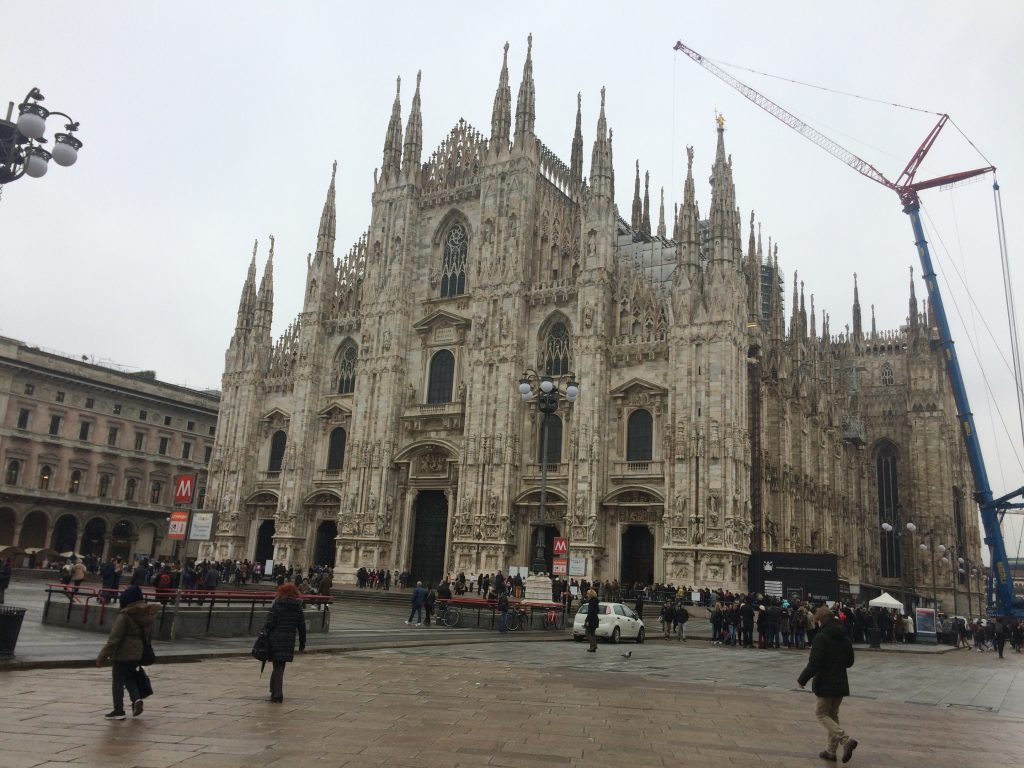 The Duomo always looks like its about to take off