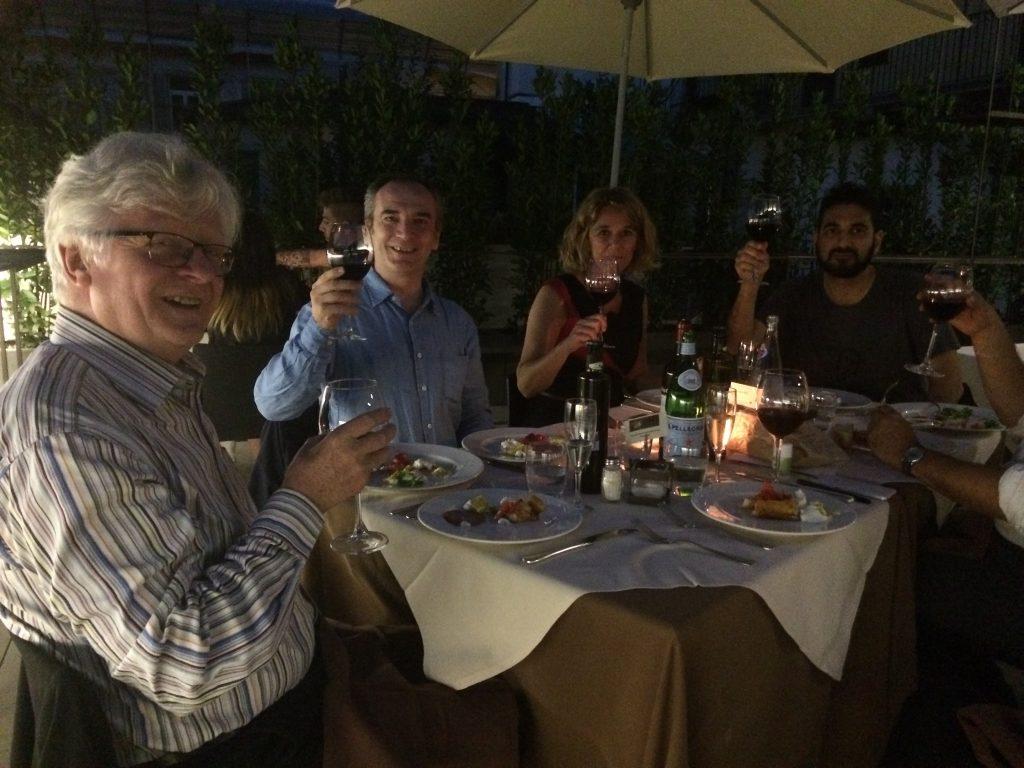 M,Sergio,Catherine,Vittorio Bongiorno.