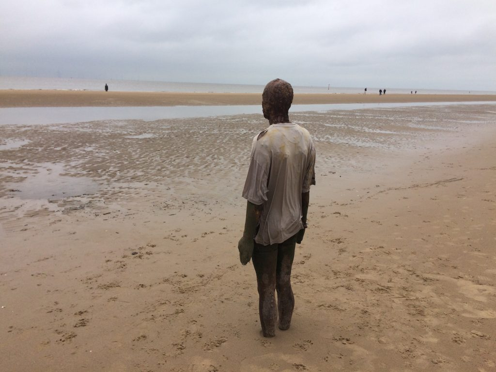 Gormley with another in the distance.